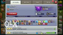 Clash of clans level 117 town hall 9 max.