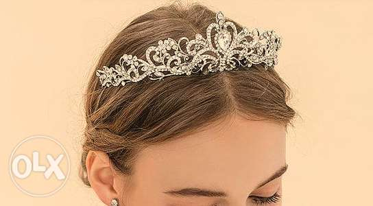 Swarovski Crystal Bridal Tiara crown تاج عروس كرستال شوارفسكي