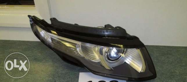 Range Rover Evoque Headlights 16pin
