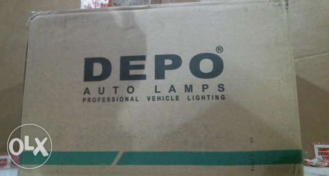 Depo Nissan Frontier Driver Side Replacement Headlight المرفأ -  3