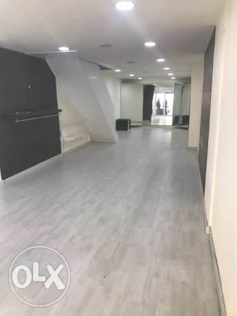 120sqm shop for rent Zouk Mosbeh Highway
