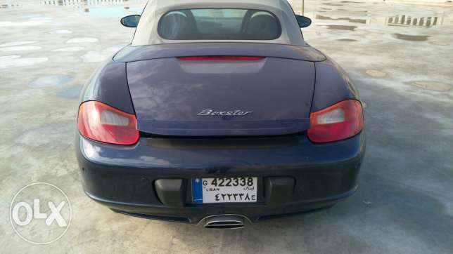 Porsche boxster 2003 very good condition