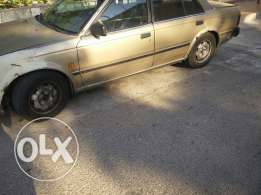 Nissan.gold color.1985.automatic. Nissan.20GL