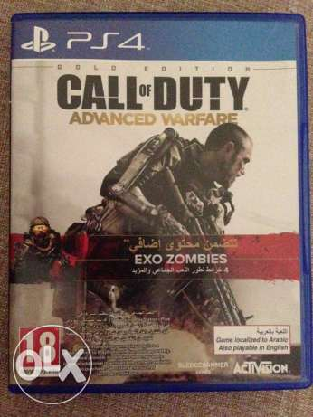 for PS4 call of duty advanced warfare + DLC pack maps and weapons المتن -  1