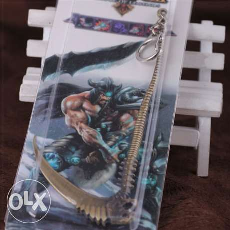 Lol league of legends keychain الدورة -  2