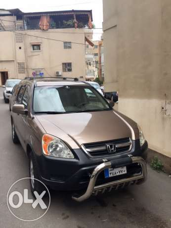 Honda crv 2003 full options