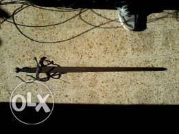 Old sword from Spain, 100cm, copy of colada de el Cid, hand made