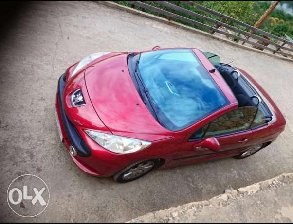 Peugeot 207cc very clean