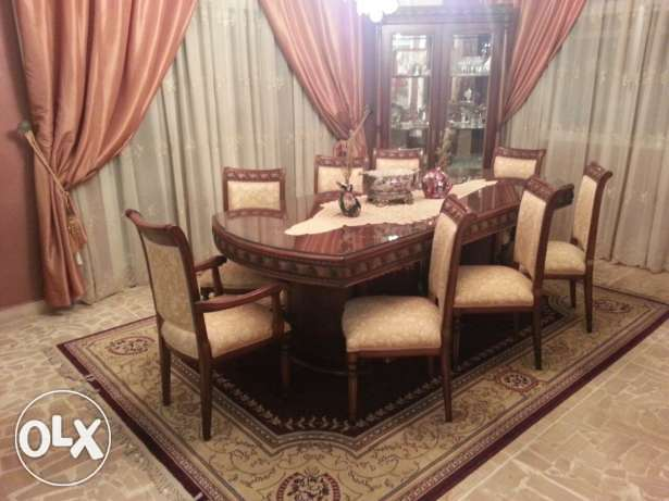 Dining room set and living room set