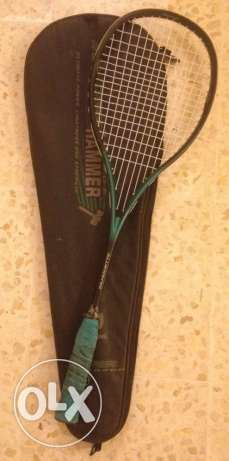 used hummer squash rackets in a very good conditions