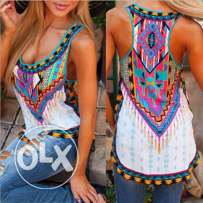 Fashion Women Summer Vest Sleeveless