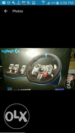 Logitech g29 for sale or trade on canon camera