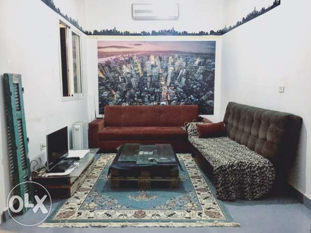 fully furnished apartment in mar mikhael for rent