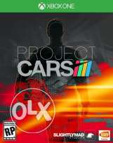 Project cars game DVD for Xbox one