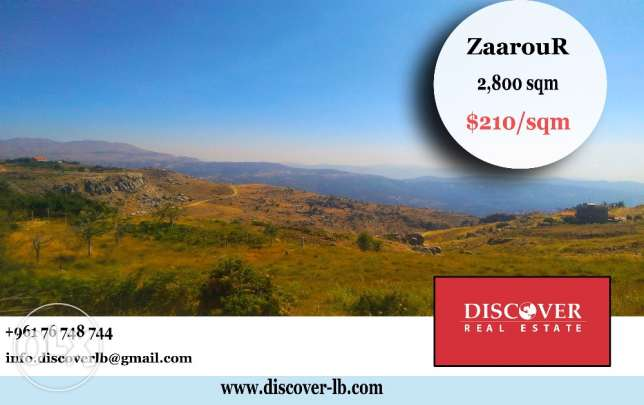 HOT DEAL Land For Sale in ZaaouR 2,800sqm