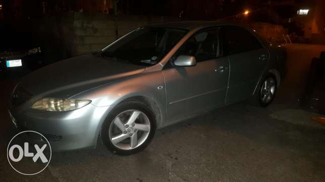Mazda 6 2004 full option ,very good conditio one owner