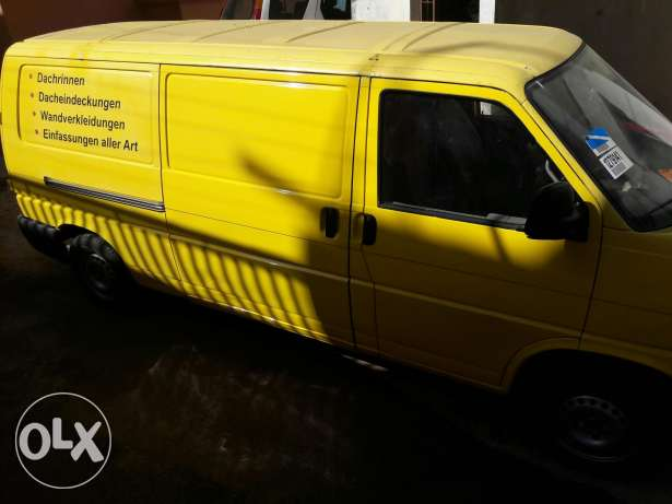 Van VW t4 long version