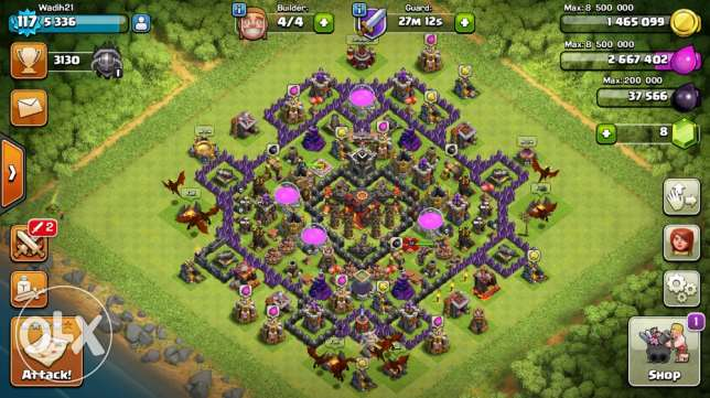 th10 almost maxed very good base very cheap price whatsapp حازمية -  1