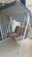 Swinging chair for 2 people (like new)
