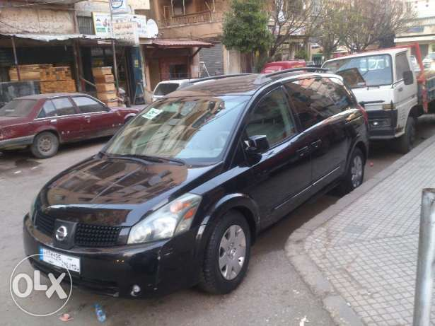 Nissan Quest 2005 Black good condition