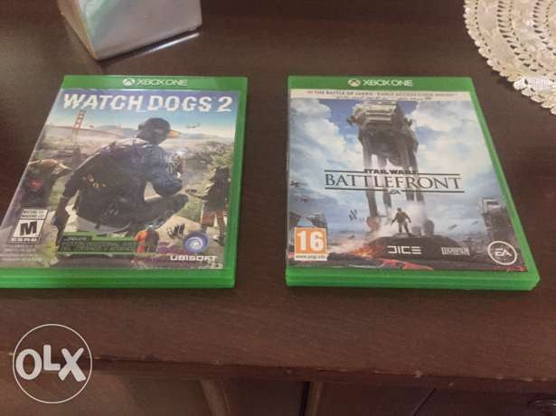 both Xbox one cds for 30$ still new !! limited time