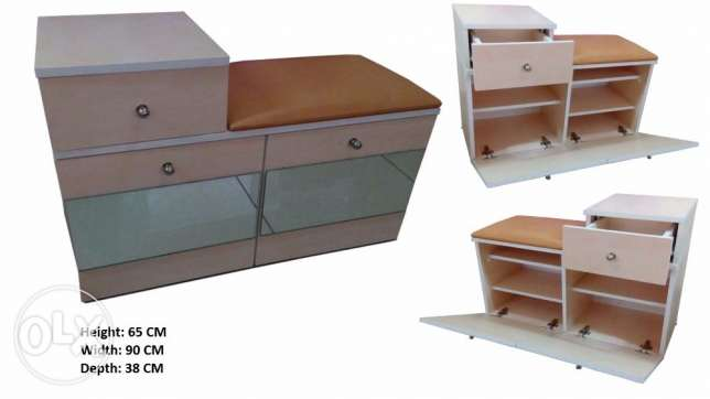 Most Hot Special Offer Cabinet Wood Shoe Rack خزانة أحذية خشبية