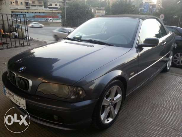 CONVERTIBLE BMW 325 FOR SALE 2002 super clean