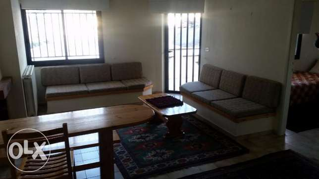 furnished chalet for rent $90/night faraya
