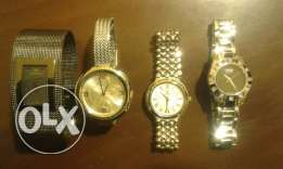 4 woman watches
