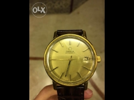 Antique Used Authentic Gold Omega Watch