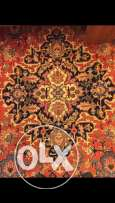 Vintage Persian Tabriz Rug 2.7x3.6 m 150 years old