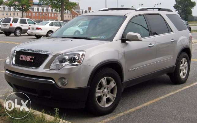 GMC Acadia SLT 2007 full option.