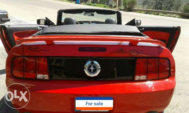 Convertible Ford Mustang 2005 in perfect condition