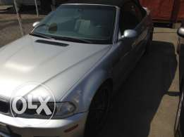 2002 Bmw m3 convertible one owner car smg very clean