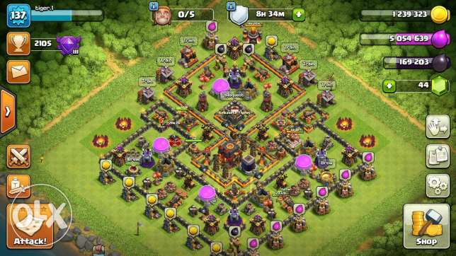 th10 max troops max king wqueen 27