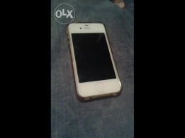 Iphone 4s for sale in good conditions with cover and screen prote
