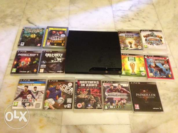 For sale PS3 +12 CD