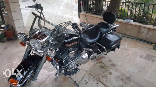 Harley Davidson - Road King بيت الشعار -  1
