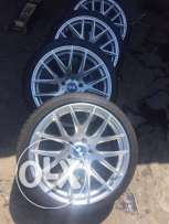 """18"""" used rims and tires for BMW"""