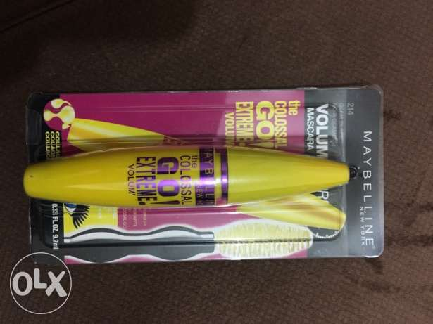 "maybelline mascara ""the colossal go extreme"