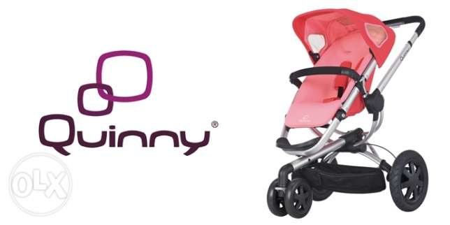 Quinny Buzz Stroller - Pink Blush used in good condition