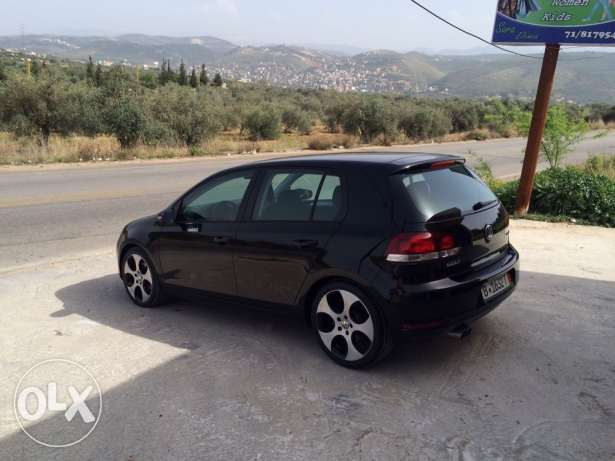 golf 6 model 2011 full option almaniyi khar2a+excellent condition