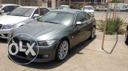 2009 BMW 328I Coupe, Gray and Black leather interior
