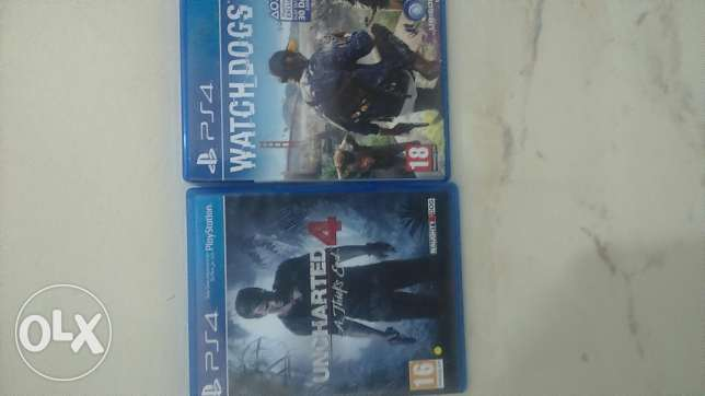 Watch dogs2 and uncharted4