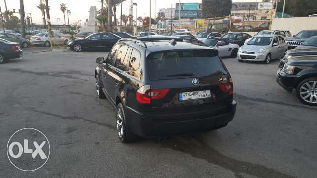 Bmw X3 3.0si 2004 full options xenon panoramic very clean تقسيط بنك