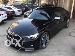 BMW 328i Black-Black with Red Line leather Sportpackage