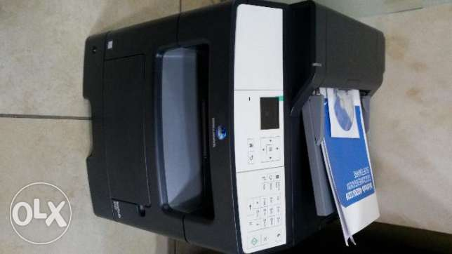 4 in1 printer-scan-fax like new
