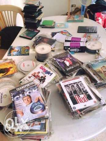 all collection of dvd action 200 dvd just for 50$ فرن الشباك -  1