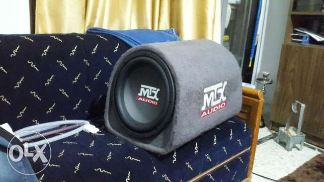 MTX subwoofer and ALPINE amplifier