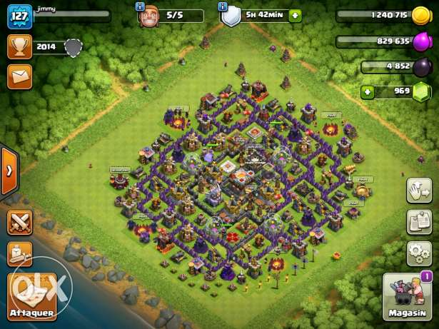 my coc account on sale